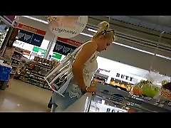 Siehe durch Titten blonde Teenager